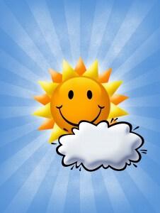 Happy sun-burst lo res